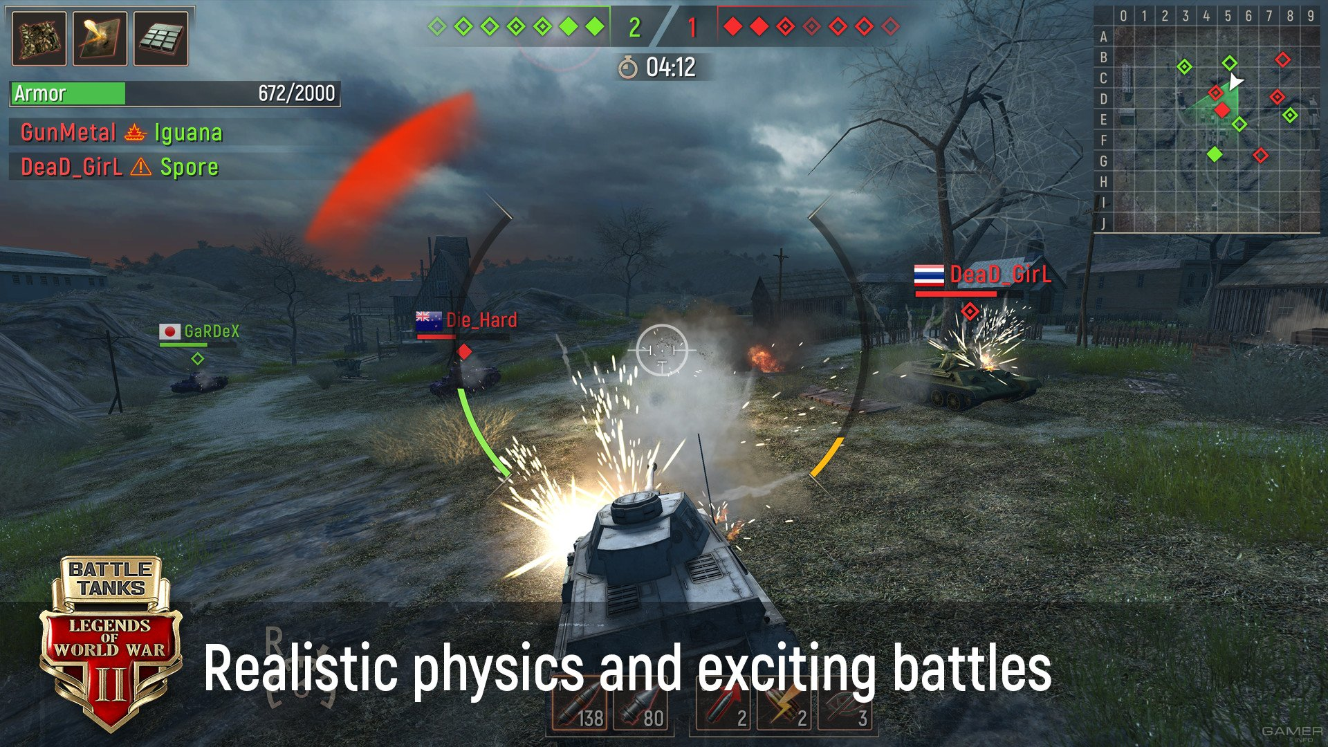 Battle Tanks: Legends of World War II (2019 video game)