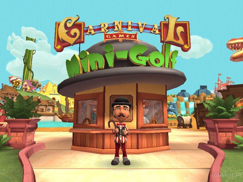 Carnival Games Mini Golf 2008 Video Game