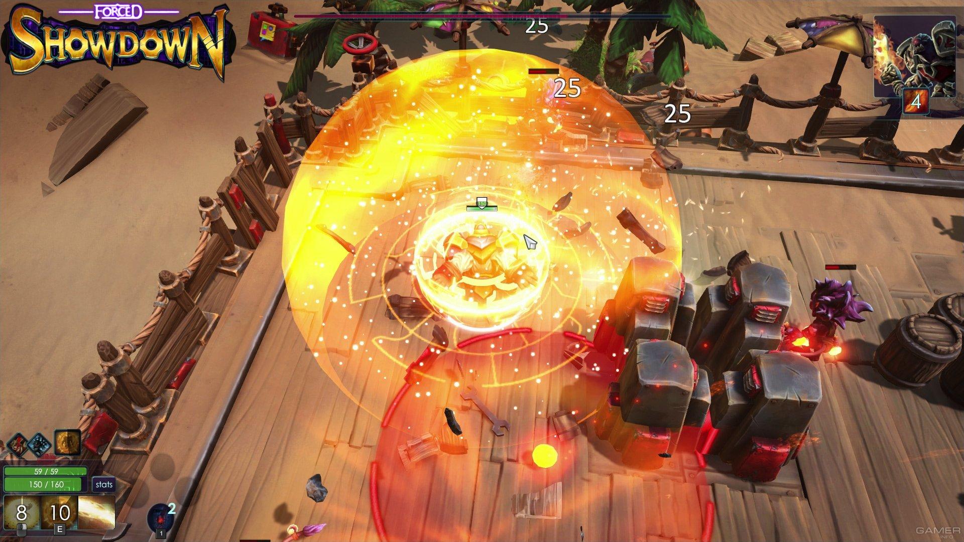 Forced Showdown Gameplay forced showdown (2016 video game)