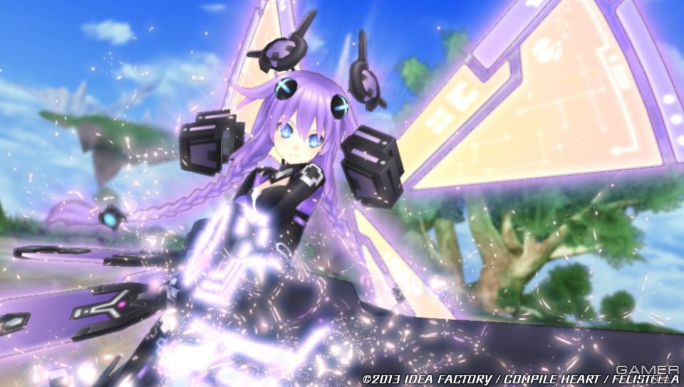 hyperdimension neptunia video game analysis
