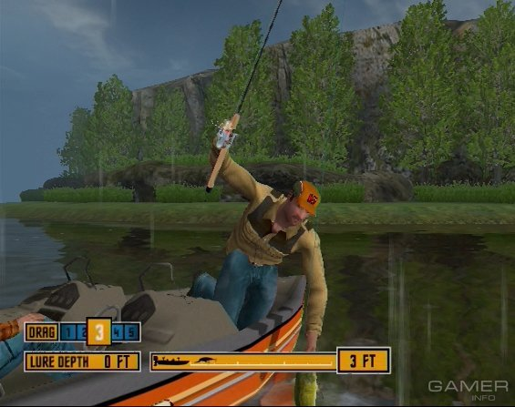 Rapala tournament fishing 2006 video game for Rapala tournament fishing