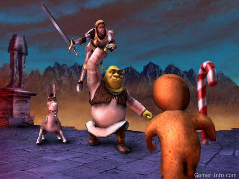 Shrek Super Slam 2005 Video Game
