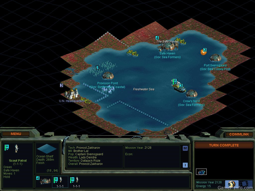 Sid Meier's Alpha Centauri: Alien Crossfire (1999 video game)
