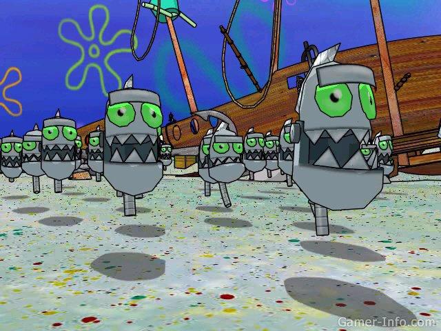 spongebob squarepants battle for bikini bottom gameplay