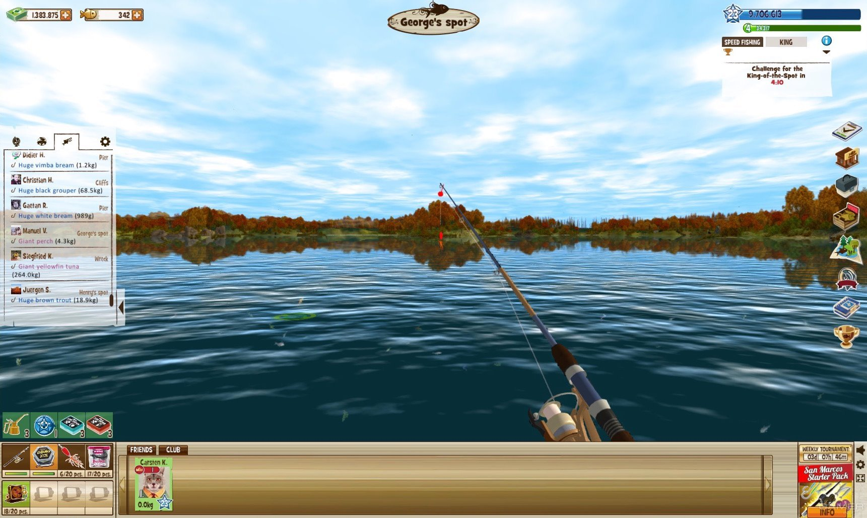 The fishing club 3d 2016 video game for The fishing club 3d