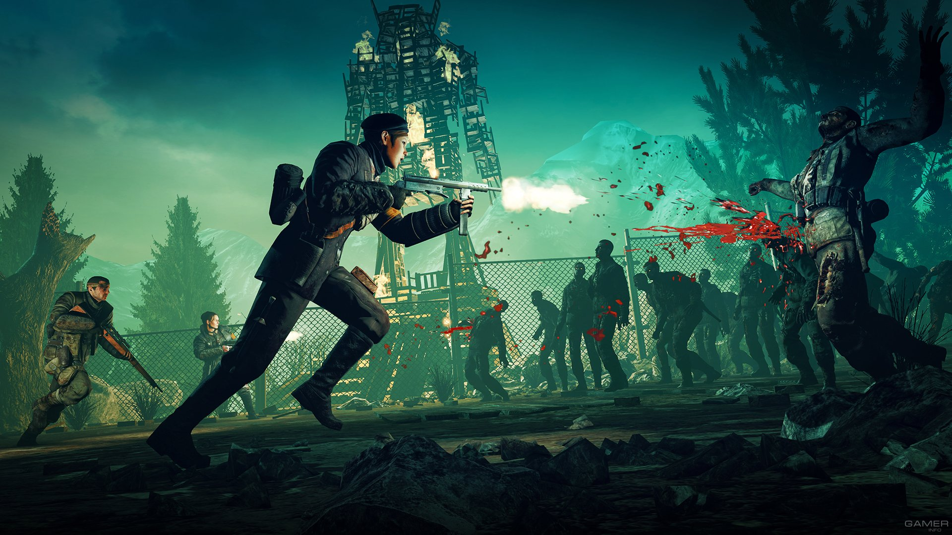 Trilogy zombie walkthrough army Zombie Army